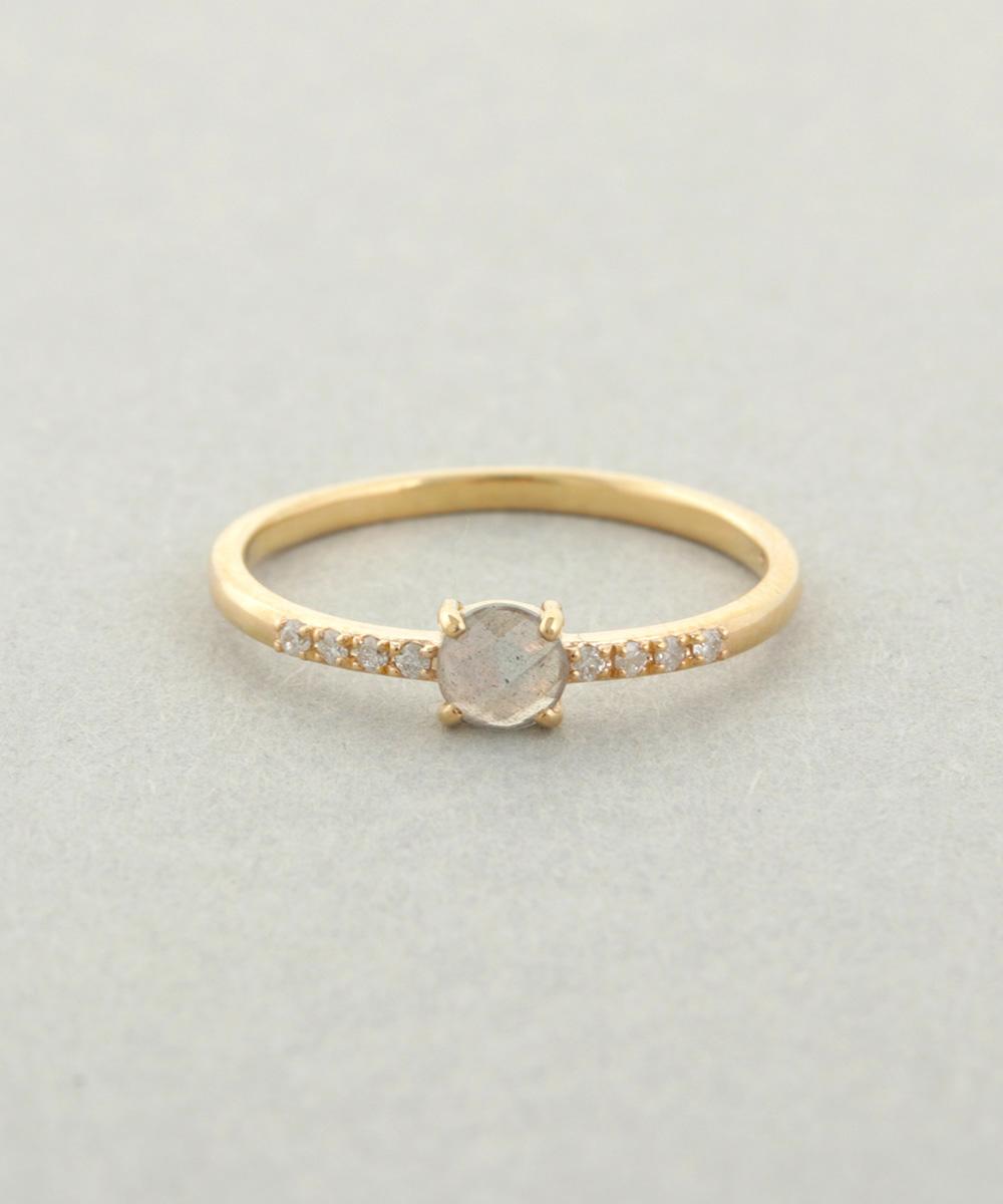 K10レイヤー ダイヤモンドリングの写真