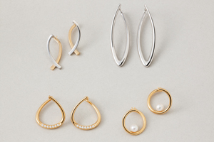 Circle pierced × earrings collectionの写真