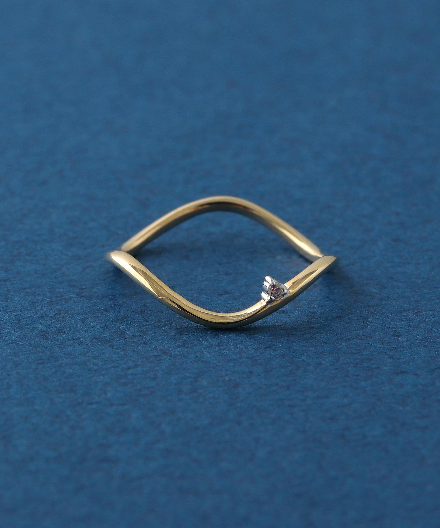 2018 Xmas Limited【ドリームデイ】K10×ダイヤモンド ピンキーリングの写真