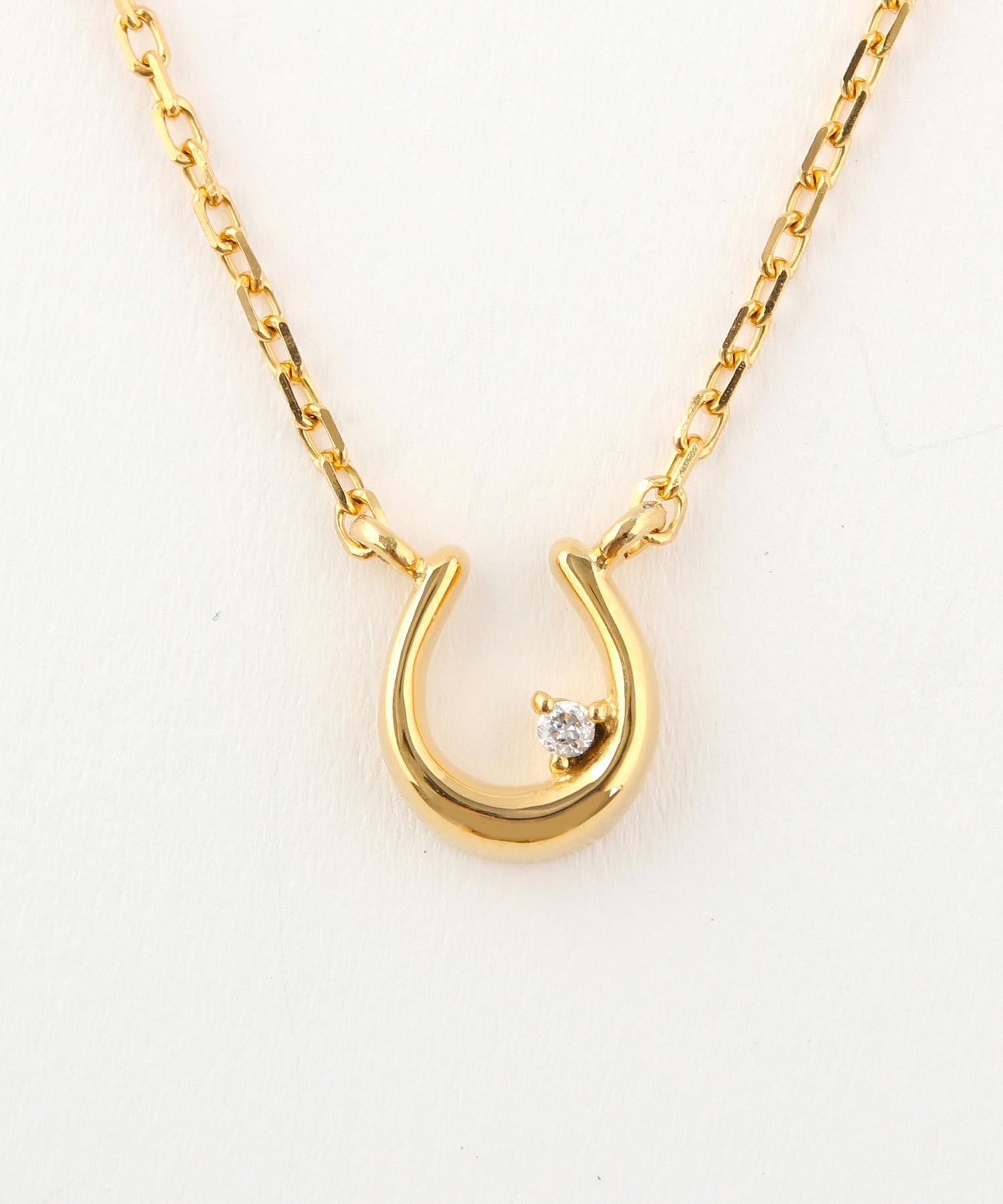 ディアマンティーニ ホースシュー×ダイヤモンド ネックレスの写真