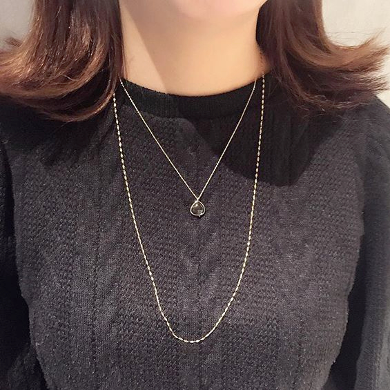K10Gem necklace collectionの写真
