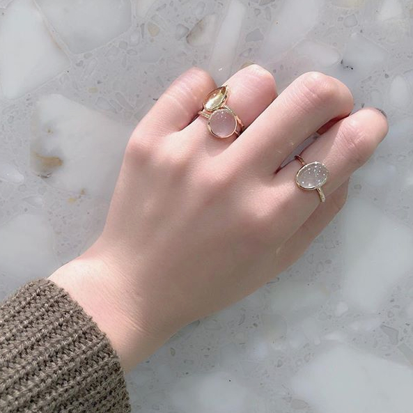 K10 Gem ringの写真