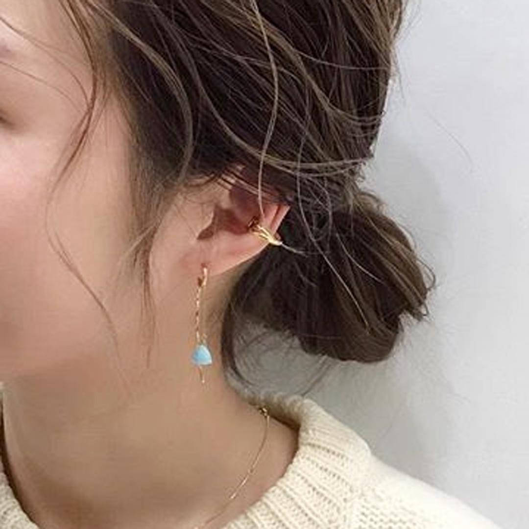 Ear cuffs × earringの写真